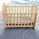 Small Simba Cream Color Rocker Doll Crib #600559
