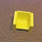 Vintage 1973 Mattel Yellow Retro Doll House Chair #600603