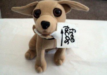 "6"" Plush Talking Taco Bell Chihuahua Dog Says ""Here Lizard Lizard Lizard"" #600662"