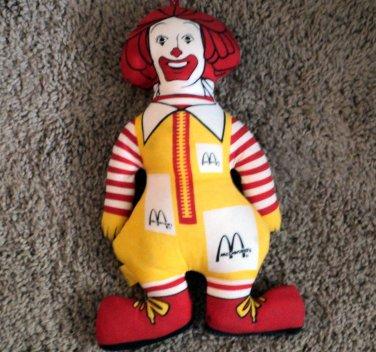 """13 1/2"""" Ronald McDonald Cloth Doll #600669"""