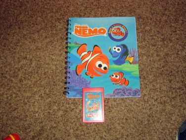 Disney Finding Nemo Book & Cartridge for Story Reader #600673