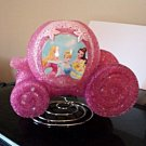 Disney Princess Carriage EVA Table Lamp with  Cinderella, Bell and Aurora #600644