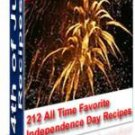 4th of July recipes-Impress your Family-eBook on CD!