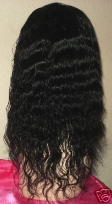 Indian Remy Deep Wavy Full Lace Wig