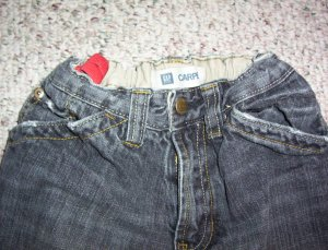 boy's sz 8 reg GAP jeans with adjustable waist