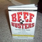 Beef Busters hardback book 2002 Marissa Cloutier MS RD
