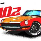 DATSUN 240z Retro Car Tees