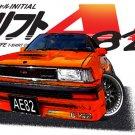 Toyota Corolla AE82 Car Tees