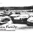 Toyota Celica Family Car Tees