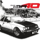 Toyota Celica TA40 draw Car Tees