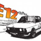 BMW E12 Classic Car Tees