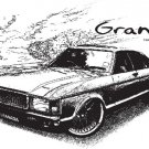 Ford granada Classic Car Tees