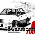Mitsubishi Lancer Turbo 1981 Car Tees