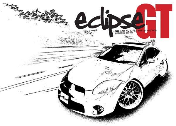 Mitsubishi Eclipse GT 2 Car Tees