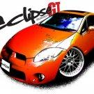 Mitsubishi Eclipse GT Car Tees