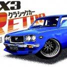 Mazda RX3 Retro Car Tees