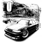 Toyota Mark II 2 JZX90 Car Tees