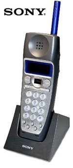 SONY 2.4 GHz CORDLESS ACCESSORY HANDSET