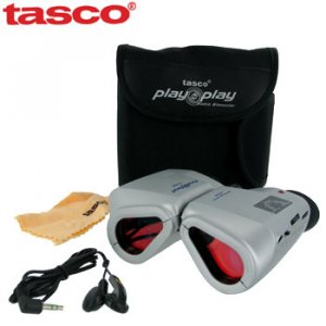 TASCO AM/FM RADIO BINOCULARS