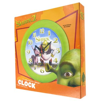 DREAMWORKS LLC SHREK AND DONKEY CLOCK