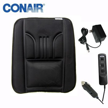 CONAIR MASSAGING BACK REST WITH HEAT