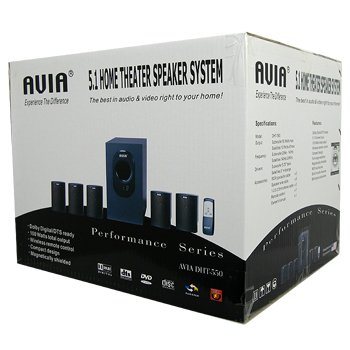 AVIA 5.1 HOME THEATER SPEAKER SYSTEM