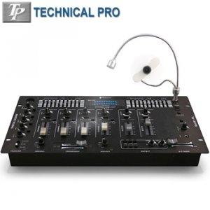 TECHNICAL PRO  4 CHANNEL DIGITAL PRE-AMP MIXER