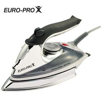 EURO-PRO� DELUXE STEAM IRON