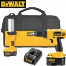 DEWALT HEAVY DUTY 14.4V COMPACT DRILL AND FLUORESCENT LIGHT KIT