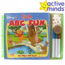 ACTIVE MINDS DISNEY POOH ABC FUN WIPE-OFF BOOK