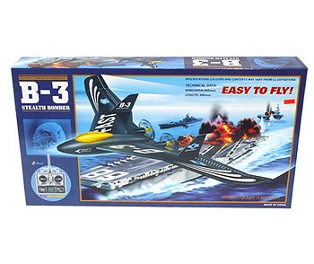 FLYFAIRY RADIO CONTROL B-3 STEALTH BOMBER
