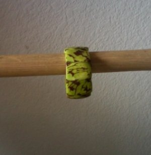 Stylish Green Chunky Bracelet