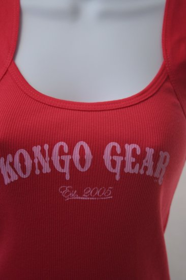 Kongo Women's Ribbed Beach Tank Size Medium