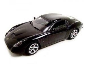 Ferrari 575 GTZ Zagato Black Elite 1:18 Diecast Model