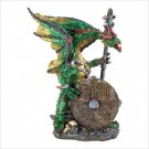 ARMORED DRAGON STATUE