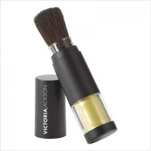 "VICTORIA JACKSON SHIMMER POWDER BRUSHES  ""GOLD"""