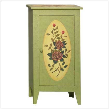 ROSE PANELED CABINET (SALE ORIGINALLY 89.95)