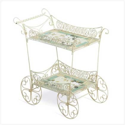 MAGNOLIA TEA CART  (ON SALE ORIGINALLY 124.95)