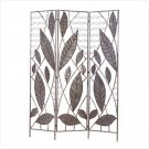 BAMBOO LEAF DESIGN DIVIDER SCREEN  (FREE SHIPPING & ON SALE ORIGINALLY 299.95)