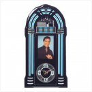 ELVIS JUKEBOX CLOCK  (FREE SHIPPING)