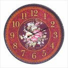OVERSIZED FRENCH FLORAL CLOCK  (FREE SHIPPING)