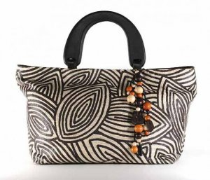 Gypsy - Tote Bag w/ Wood Handle
