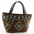 Tangier - Choco Brown Tote Bag