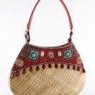 Tiki - Hobo Bag w/ Leather Tubing Handle