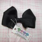 B02- Simple Black Boutique Bow