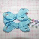 A53-Light Blue Tiny Boutique Bow Set