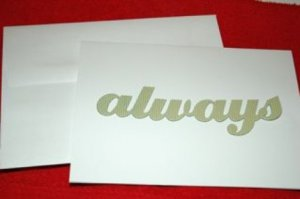 Always Greeting Card