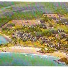 BIRDS EYE VIEW KENNEBUNK BEACH MAINE 1960s POSTCARD