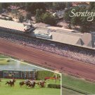GRANDSTAND AND RACING VIEW SARATOGA NY NEW YORK POSTCARD
