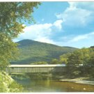 OLD SCOTT BRIDGE WEST RIVER ROUTE 30 VERMONT POSTCARD 578